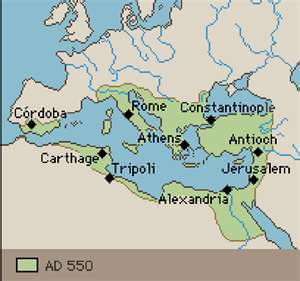 Byzantine Empire Capital Constantinople